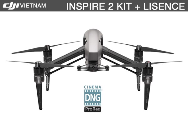 DJI INSPIRE 2 + LICENSE KEY | (Gimbal camera not included)