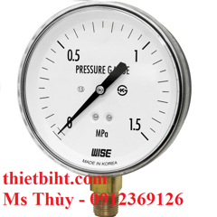 Đồng hồ áp suất Wise Model P140 - General purpose pressure gauge_P140 series