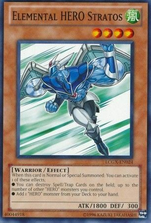 LCGX-EN024 - Elemental Hero Stratos