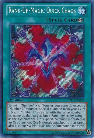 DRLG-EN042 - Rank-Up-Magic Quick Chaos - Secret Rare