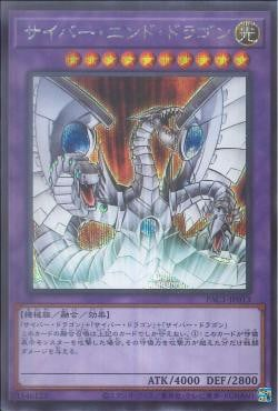 PAC1-JP013	- Cyber End Dragon - Secret Rare