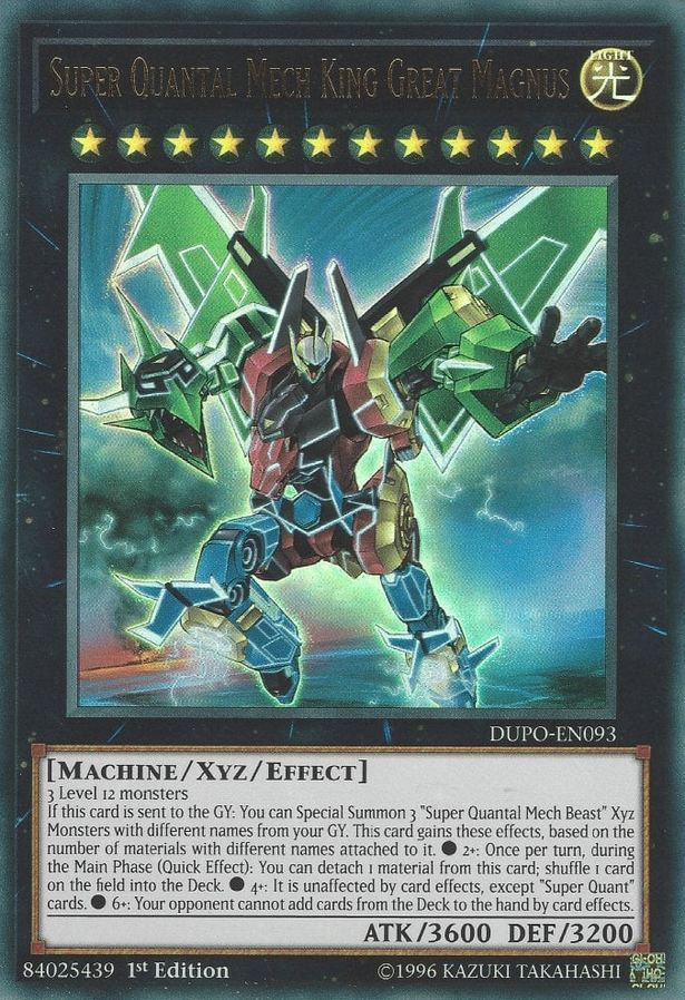 DUPO-EN093 - Super Quantal Mech King Great Magnus - Ultra Rare