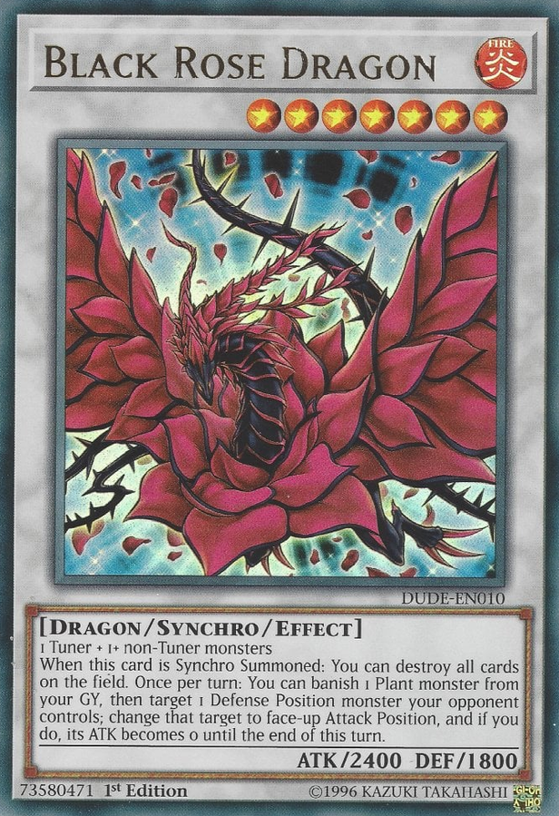 DUDE-EN010 - Black Rose Dragon - Ultra Rare