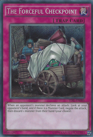 TDIL-EN080 - The Forceful Checkpoint - Secret Rare