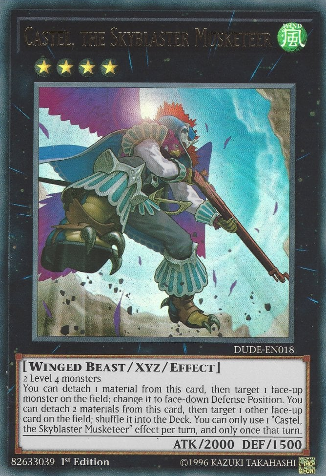 DUDE-EN018 - Castel, the Skyblaster Musketeer - Ultra Rare