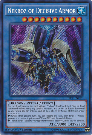 THSF-EN019 - Nekroz of Decisive Armor - Secret Rare