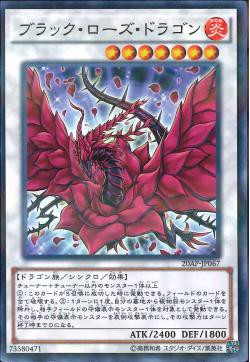 20AP-JP067 - Black Rose Dragon - Normal Parallel Rare