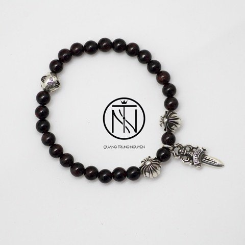 Chrome hearts 8mm bead bracelet