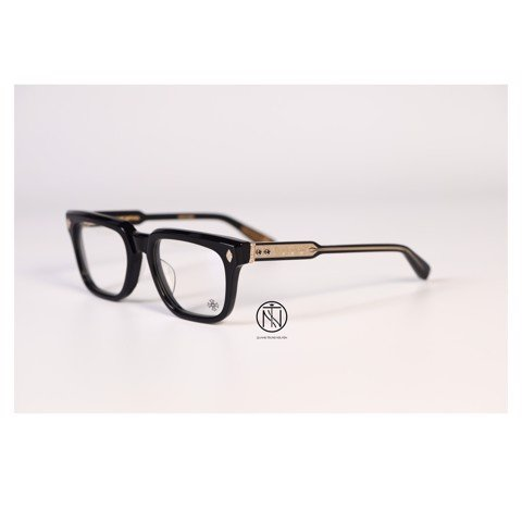 kính Chrome Hearts Ambidixtrous black gold plate