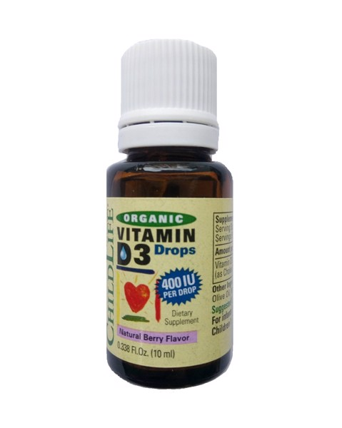 ChildLife Organic Vitamin D3 Drops 10ml
