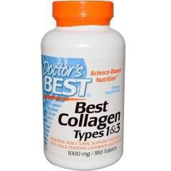 Doctor's Best Collagen Types 1 & 3, 180 viên