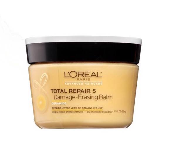 Kem Ủ Phục Hồi Tóc Hư Tổn L'Oreal Paris Hair Care Elvive Total Repair 5 Damage Erasing Balm