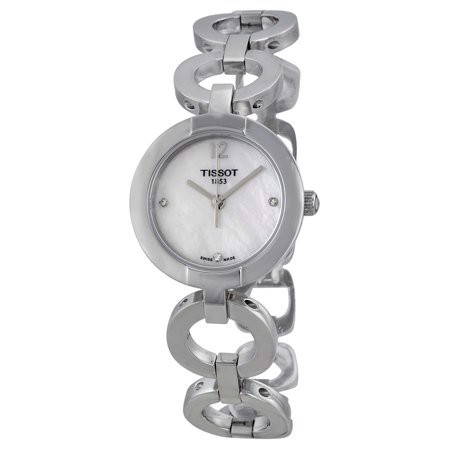 Đồng hồ đeo tay nữ Tissot White Mother of Pearl Diamond