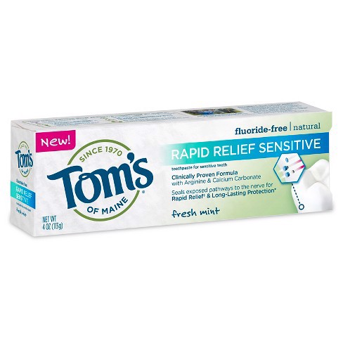 Kem đánh răng Tom's of Maine Toothpaste for Sensitive Teeth