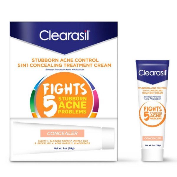 Kem trị mụn Clearasil 10% Benzoyl Peroxide Medication, Tinted
