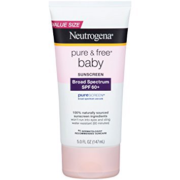 Chống Nắng Neutrogena Pure & Free Baby Suncreen Lotion SPF 60, 147ml (5oz)