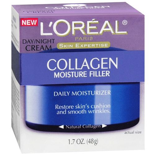 Kem chống lão hóa da L'Oreal Paris Skin Expertise Collagen Moisture Filler Daily Moisturizer Day/Night Cream