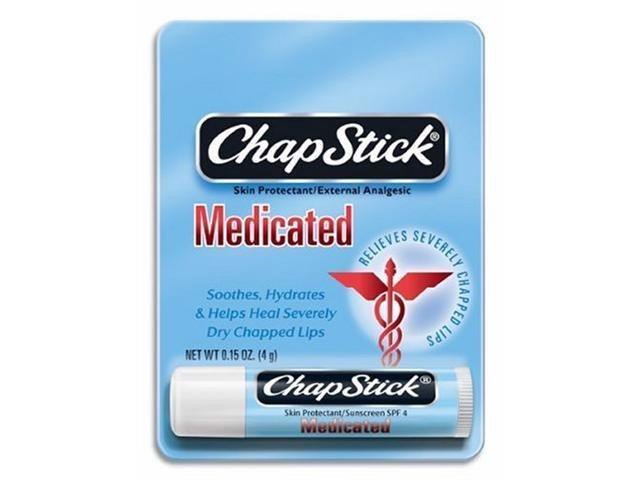Son dưỡng môi ChapStick Medicated Skin Protectant/External Analgesic Lip Balm