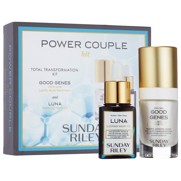 Bộ Dưỡng Da Power Couple SUNDAY RILEY Total Transformation Kit