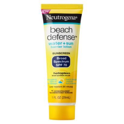 Chống nắng Neutrogena Beach Defense SPF 70 Lotion, 1 oz