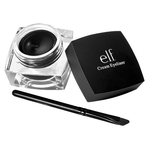 Gel kẻ mắt ELF Studio Cream Eyeliner Black 4.7g