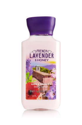 Dưỡng thể Bath & Body Works Body Lotion French Lavender & Honey, 88ml