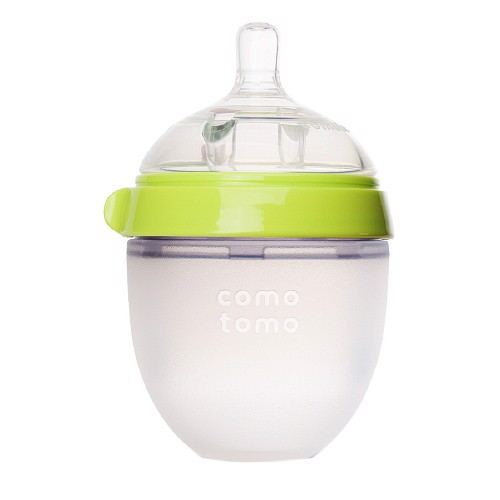 Bình sữa Comotomo Baby Bottle, Green 150ml (2 pack)
