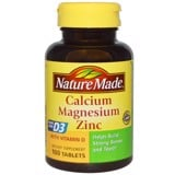 Nature Made Calcium Magnesium and Zinc - Hỗ trợ xương khớp