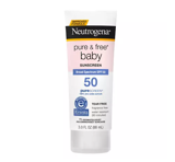 Chống Nắng Neutrogena Pure & Free Baby Suncreen Lotion SPF 60