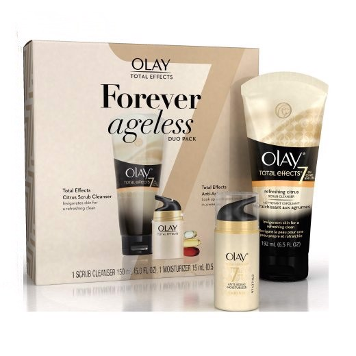 Bộ Dưỡng Da Olay Total Effects Forever Ageless Duo Pack