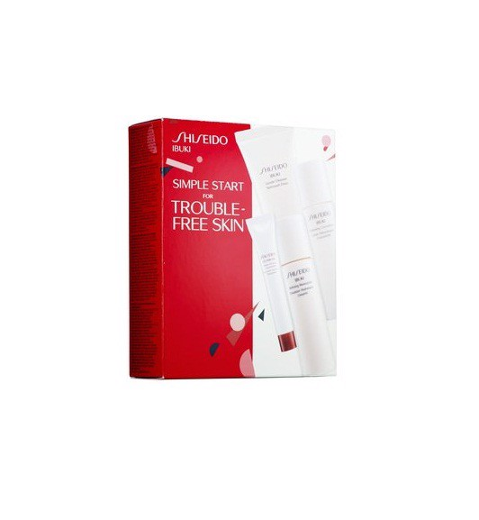 Bộ chăm sóc da Shiseido Ibuki Simple Start for Trouble Skin Set
