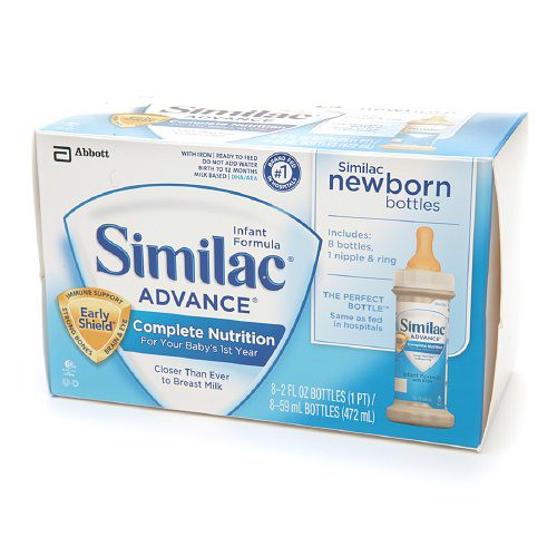 Sữa Similac Advance, Complete Nutrition, Ready to Feed 2 oz Bottles