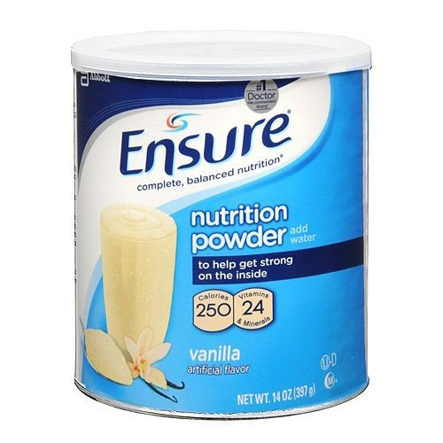 Sữa bột Ensure Nutrition Powder, Vanilla 397g