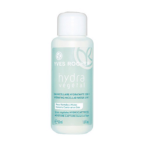 Dung dịch tẩy trang Yves Rocher Hydra Vegetal Hydrating Micellar Water Travel Size 50ml
