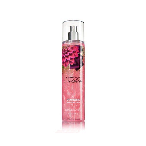 Xịt thơm toàn thân ánh nhũ Bath And Body Works A Thousand Wishes Diamond Shimmer Mist 236ml
