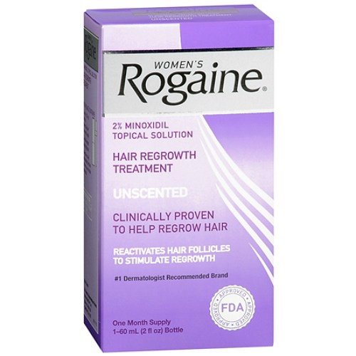 Mọc tóc nữ Women's Rogaine Hair Regrowth Treatment, Unscented, 1 tháng