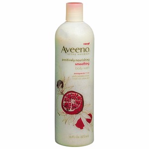 Sữa tắm Aveeno Active Naturals, Smoothing, Pomegranate + Rice