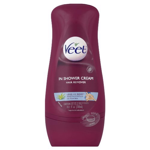 Tẩy lông Veet In Shower Sensitive Formula, 300ml USA