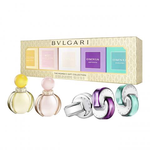 Bộ 5 chai nước hoa  Bvlgari The Womens Gift Collection
