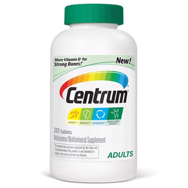 Centrum Adults, 365 viên