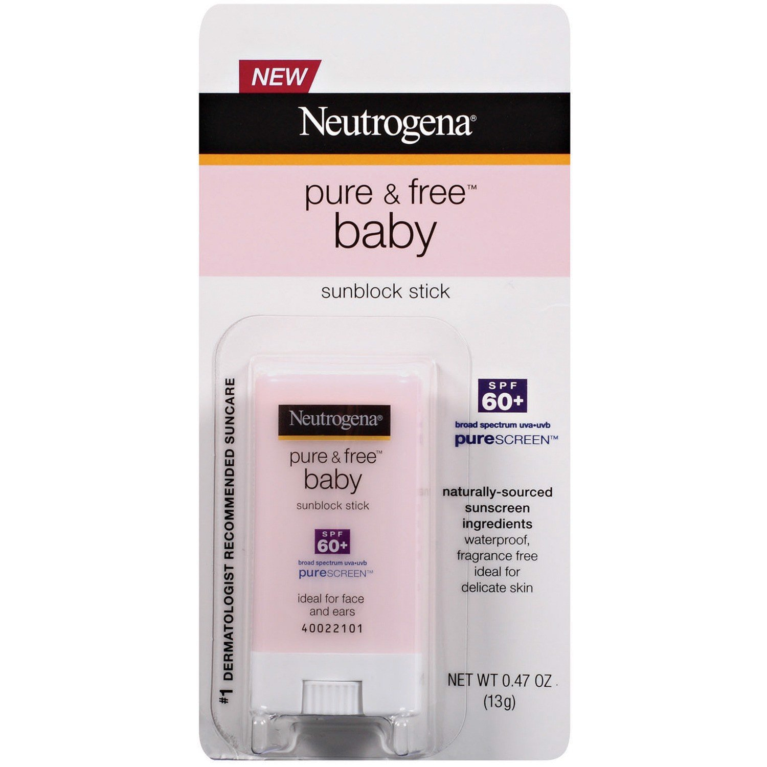 Chống Nắng Neutrogena® Pure & Free® Baby Sunscreen Stick SPF 60