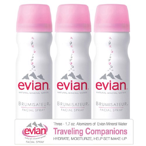 Xịt Khoáng Evian Spray Brumisateur Natural Mineral Water 3 pack