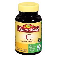 Nature Made Vitamin C 1000mg, 100 viên