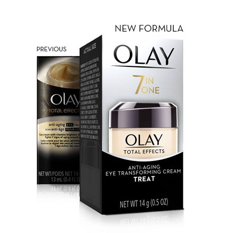 Kem Dưỡng Mắt Olay Total Effects 7-in-one Anti-Aging Transforming Eye Cream 14g