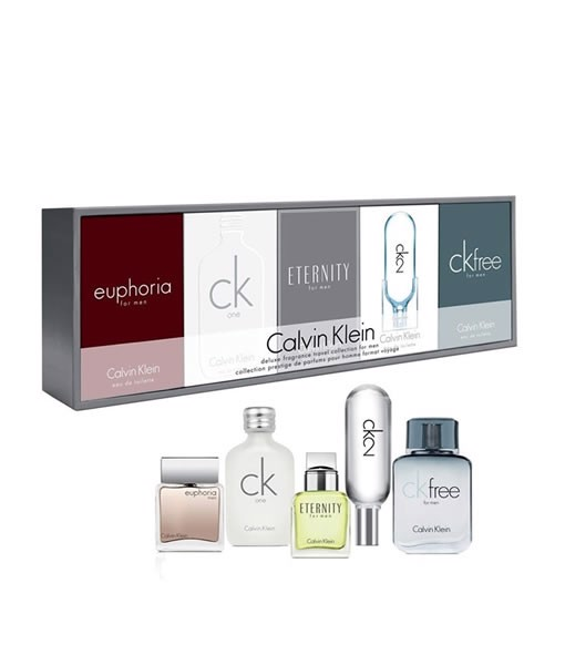 Bộ 5 chai nước hoa mini nam CK Collection by Calvin Klein Gift Set 10ml