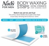 Wax lạnh cho nam Nad's for Men Body Waxing 20 Miếng