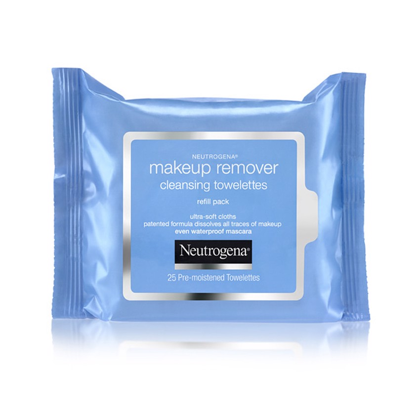 Khăn ướt tẩy trang Neutrogena Makeup Remover Cleansing Towelettes 25 miếng