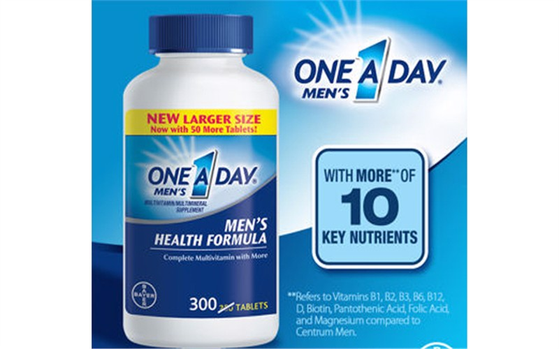 One a Day Men's Health Formula- multivitamin, 300 viên