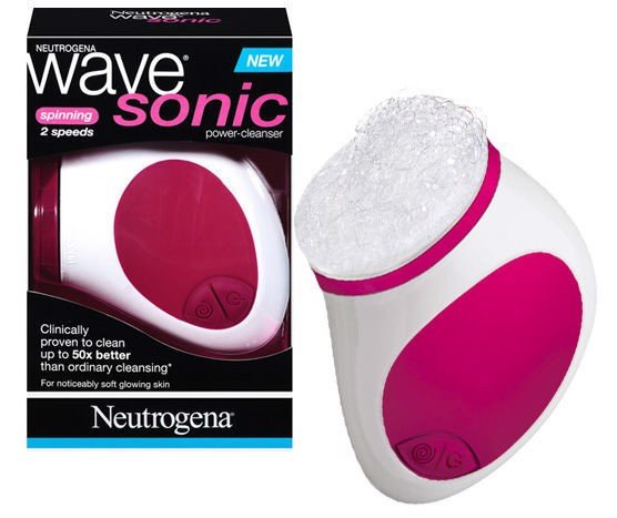 Máy rửa mặt Neutrogena Wave Sonic Power - Cleanser and Foaming Pads
