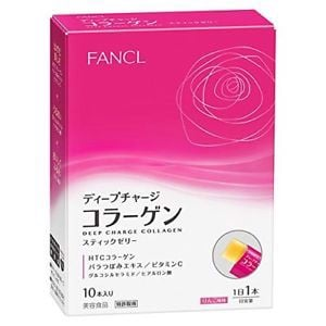 Collagen thạch Fancl Deep Charge Collagen Stick Jelly